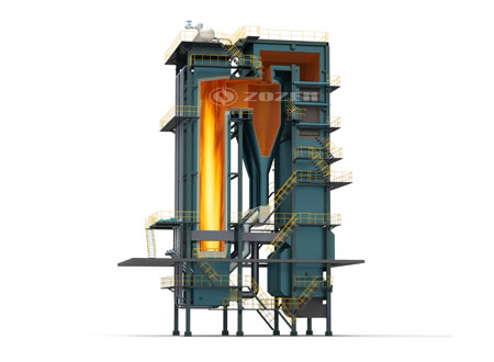 CFB coal-fired hot water boiler